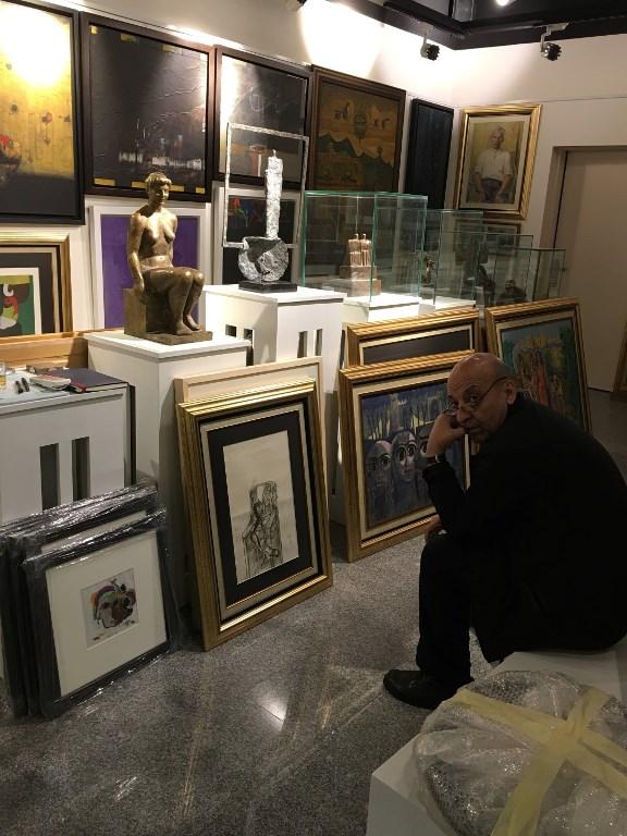 Prof. Artist &Critic Dr. Balasem Jassam 09.Apr.2017