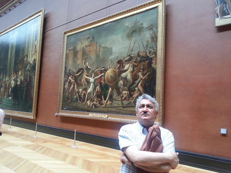 La louvre Museum Paris May.2014